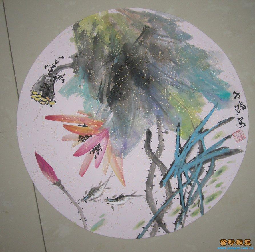 国画 写意扇面花鸟10幅一套,300元起拍包快递,12月22日22点结