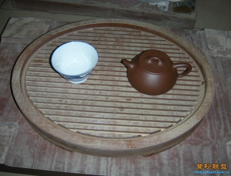 新设计的小电木茶盘.