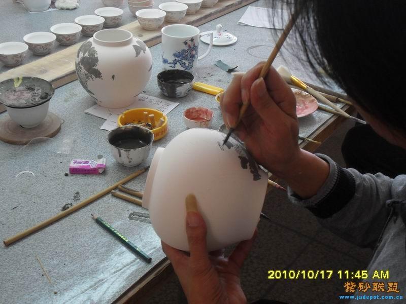 青花瓷的制作过程 - 【综艺文玩类综合讨论区】