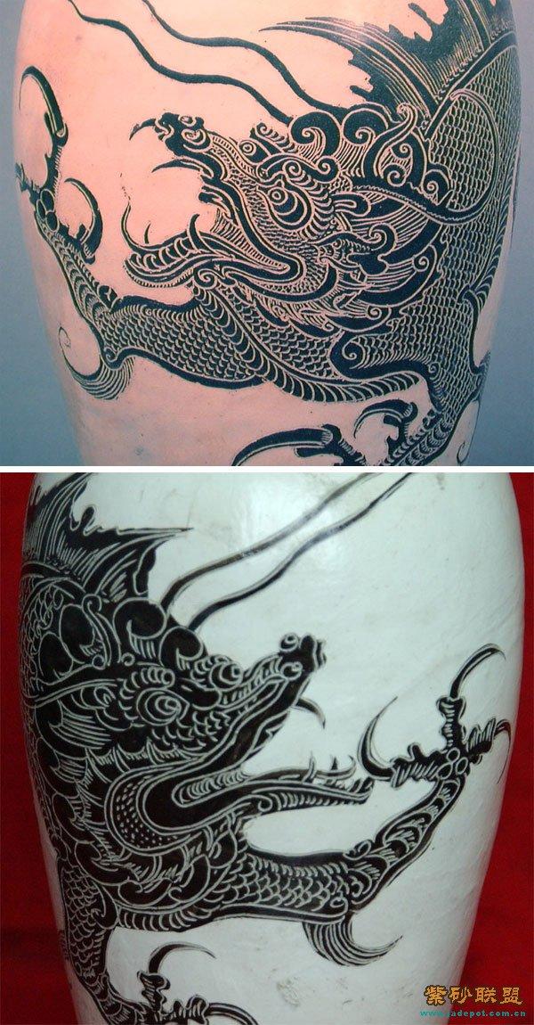 白鹤胳膊纹身图片
