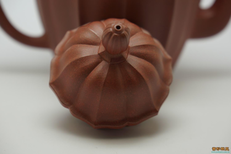 水仙花的雕刻茶壶图解