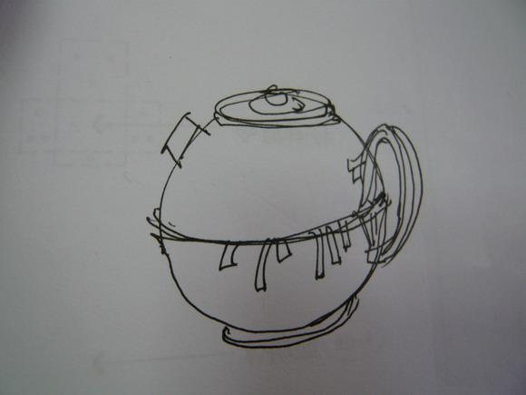 陶艺设计与制作草图